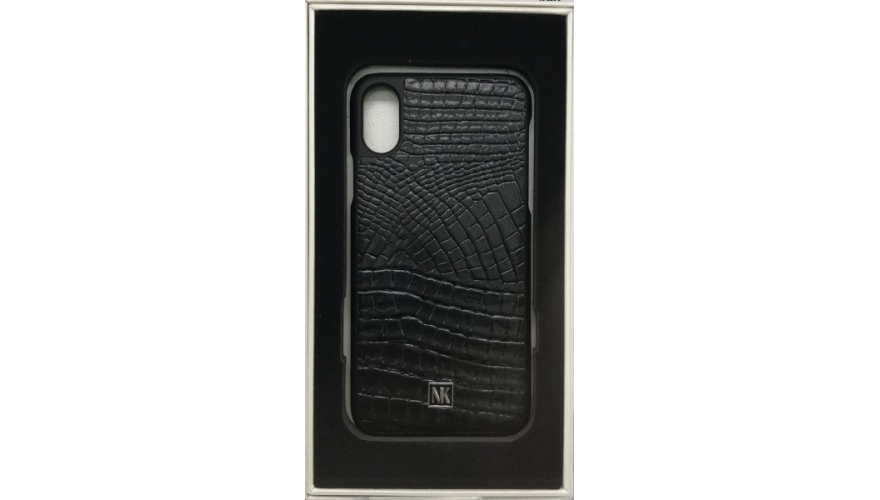 Накладка Nuoku iPhone X/Xs Premium Case Noble Кожа Black