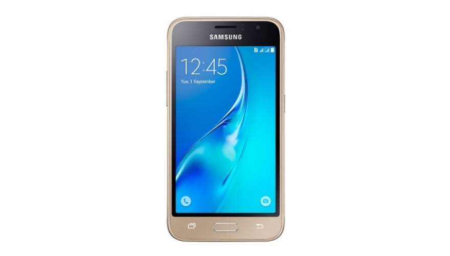 Смартфон Samsung Galaxy J1 (2016) SM-J120F/DS Gold (золотой) (RU)