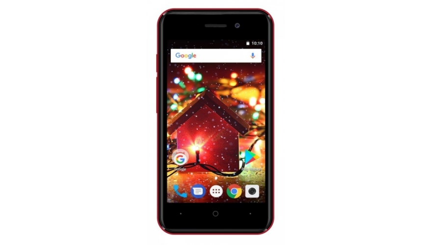 Смартфон Digma HIT Q401 3G Dark Red (Красный)