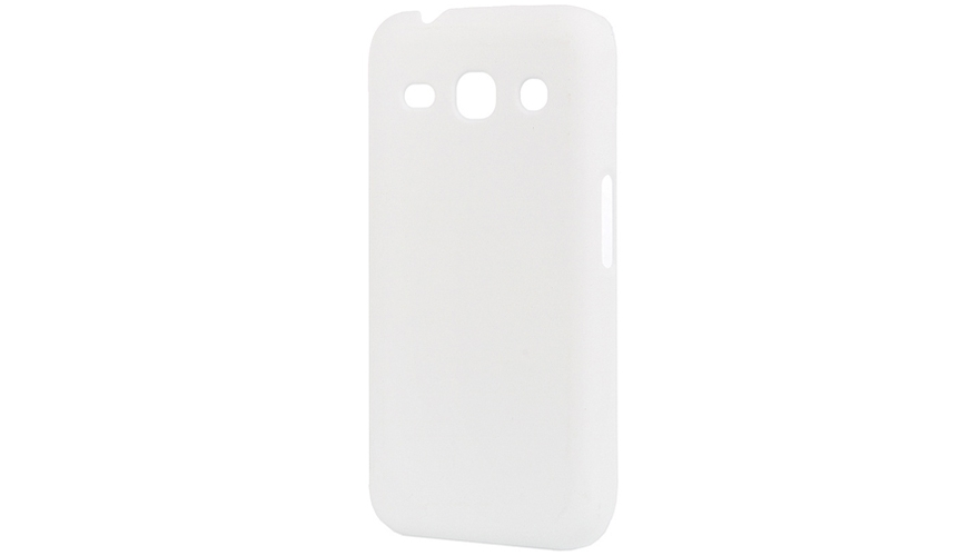 Накладка пластик Pulsar Samsung G350 Star Advance Soft Touch White