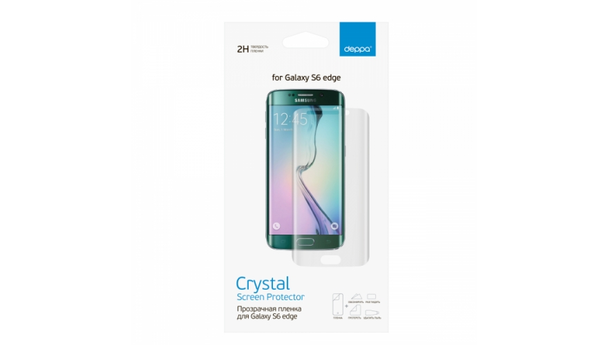 Пленка Deppa Samsung G925F Galaxy S6 Edge Back
