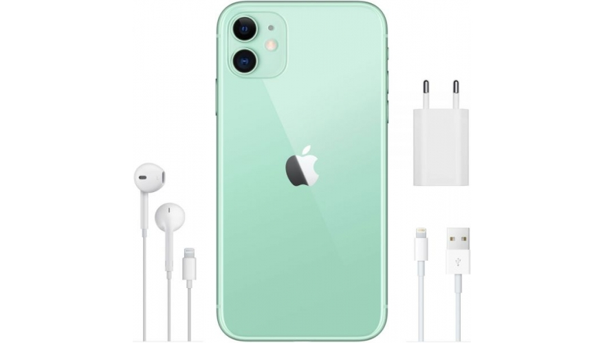 Смартфон Apple iPhone 11 128GB Green (Зеленый) MWM62RU/A
