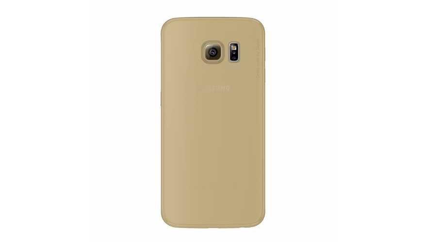 Накладка Deppa Sky Case+пленка Samsung G925F Galaxy S6 Edge Gold