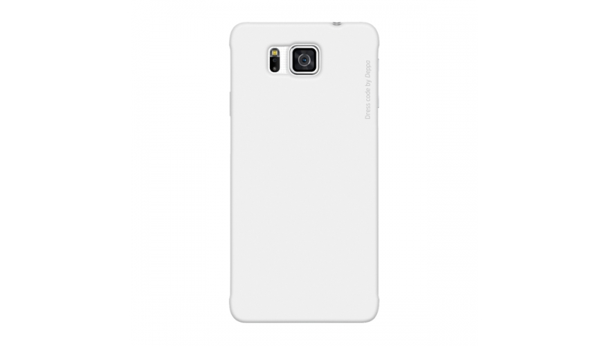 Накладка Deppa Air Case+пленка Samsung G850F Galaxy Alpha White