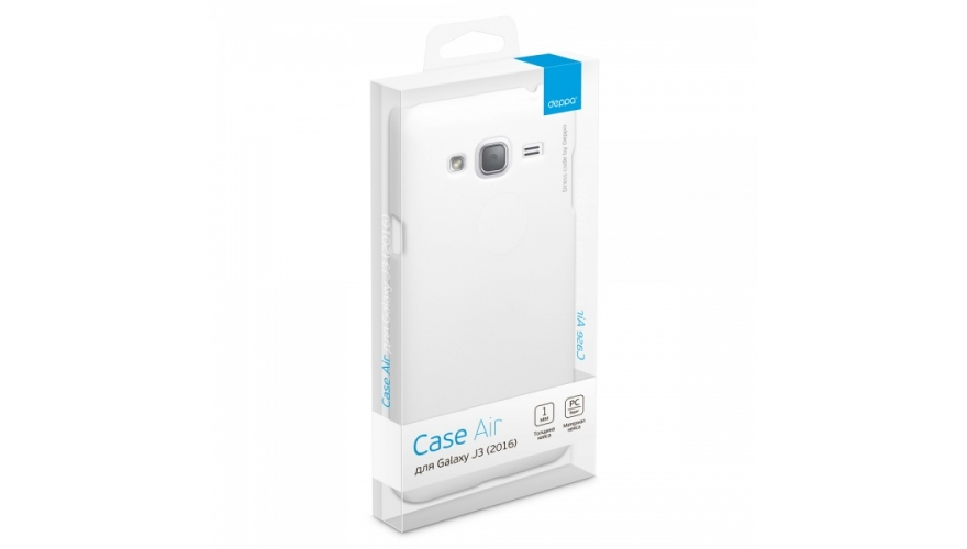Накладка Deppa Air Case Samsung J320 Galaxy J3 2016 White арт.83248